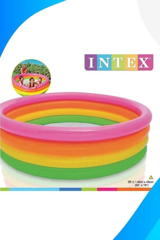 Intex pool 1.68m x 48cmn