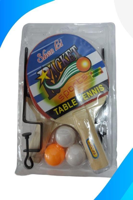מחבט וכדור טניס שולחן