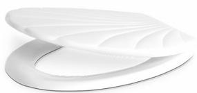 מכסה אסלה לבן
