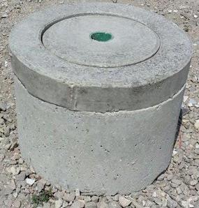 מכסה בריכת בטון 60 ביוב