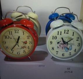 """שעון מעורר מתכתי גדול8.5"""""""