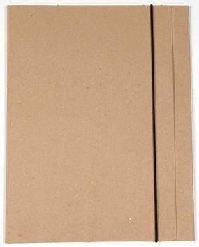 תיקיית קרטון חומה