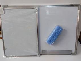 לוח מחיק 30x40 (שני צדדים)