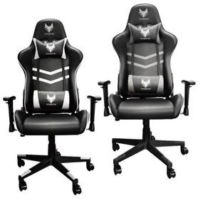 SPARKFOX GT EXTREME GAMING CHAIR Black/Grey Black/White