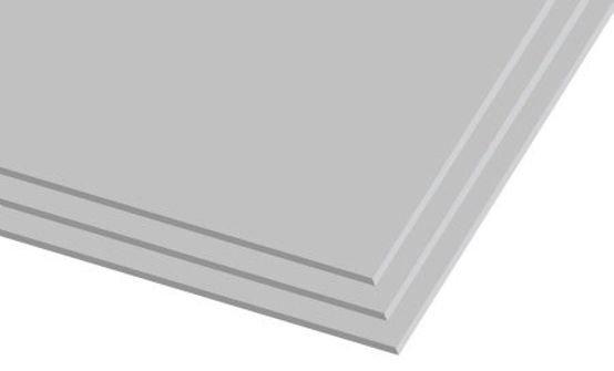 לוח גבס לבן
