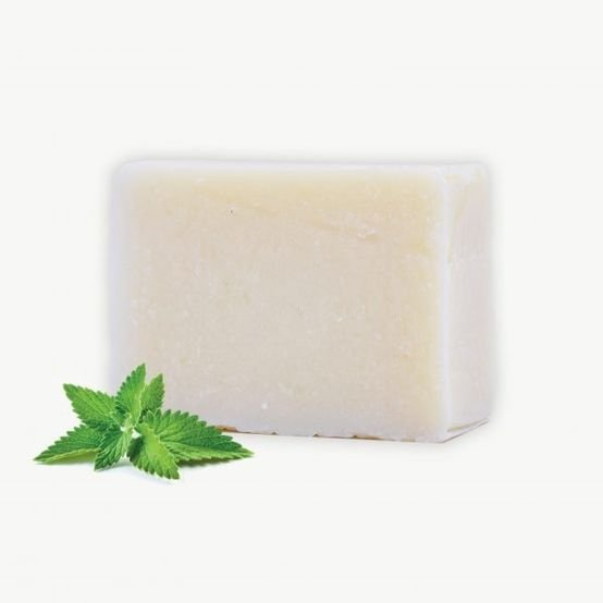 סבון מוצק טבעי בניחוח מנטה