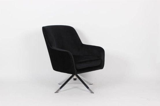 כורסא מעוצבת צבע שחור