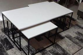 זוג שולחן סלון