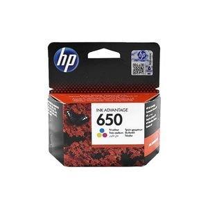 ראש דיו צבעוני HP 650 CZ102AE BHL