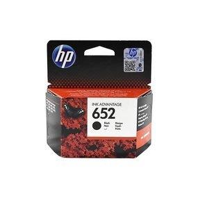ראש דיו שחור HP 652