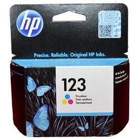 ראש דיו צבעוני HP 123 F6V1