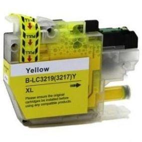 ראש דיו צהוב תואם Brother LC3219XL Y