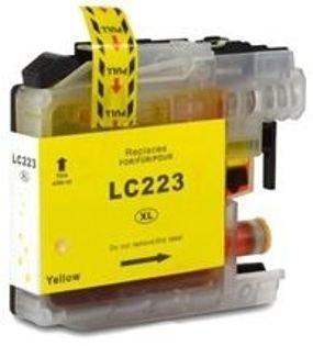 ראש דיו תואם צהוב Brother LC223