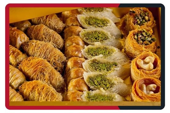 حلو عربي مشكل بالكيلو