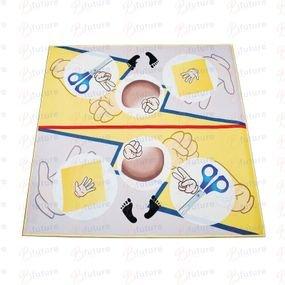 שטיח אבן נייר ומספריים