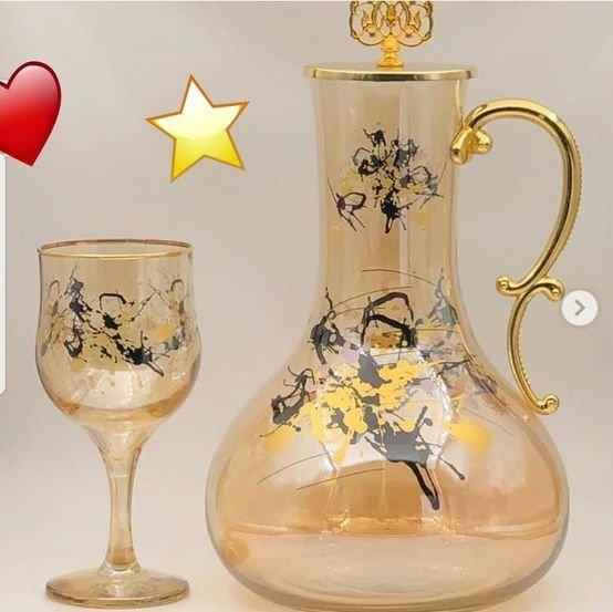 סט זכוכית מעוצב