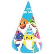 כובעי מסיבה 6יח - בייבי שארק