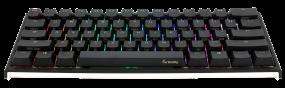 מקלדת מכנית Ducky One 2 Mini Mechanical Gaming Keyboard Black