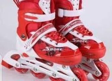 حذاء سكيت عجلات للهوايات الرياضية جميع المقاسات