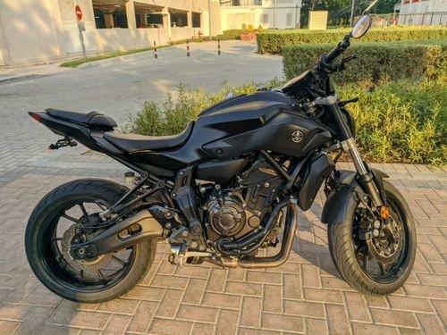 Yamaha MT07 2017