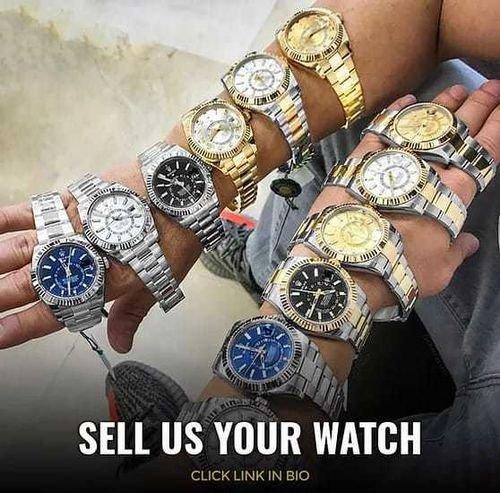 عندك ساعات للبيع نحن نهتم شراء جميع الساعات السويسرية
