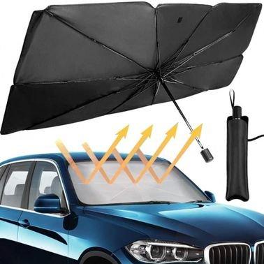 مظلة الشمس للسيارة  مصممة لحماية زجاج سيارتك الأمامي