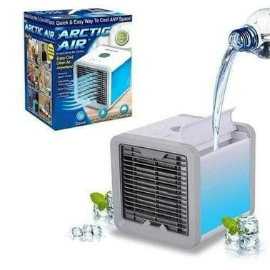 مكيف الهواء الصغير المتنقل مكيف ماء يعمل كيبل USB او مباشرة بالكهرباء سهل الاستخدام