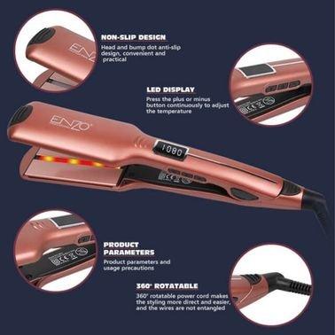 ستريت الشعر انزو الخاص بالصالونات حرارته 1080 C غني عن التعريف ذو جوده ومواصفات عاليه جدا