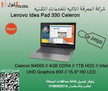 Lenovo IDEAPAD 330 Laptop, CELERON N4000
