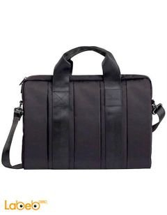 Riva Case Bag 15.6 inch - Black color - 8830 BLACK model