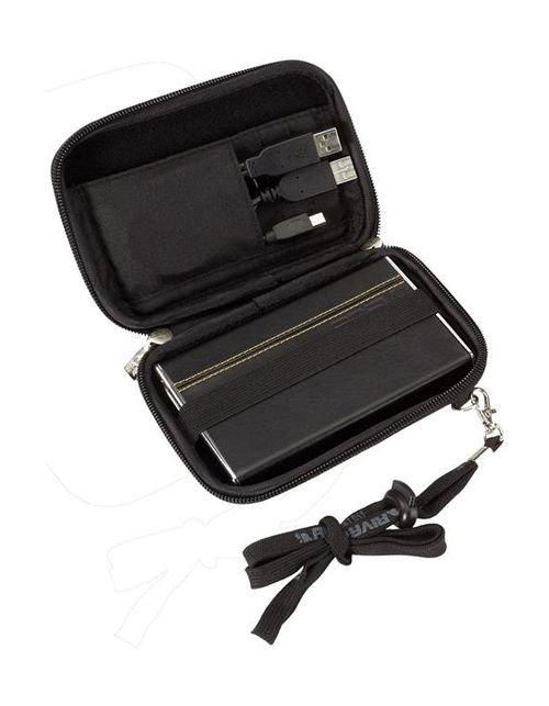 حقيبة ريفاكيس 2.5 إنش لون أسود موديل 9101 (PU)