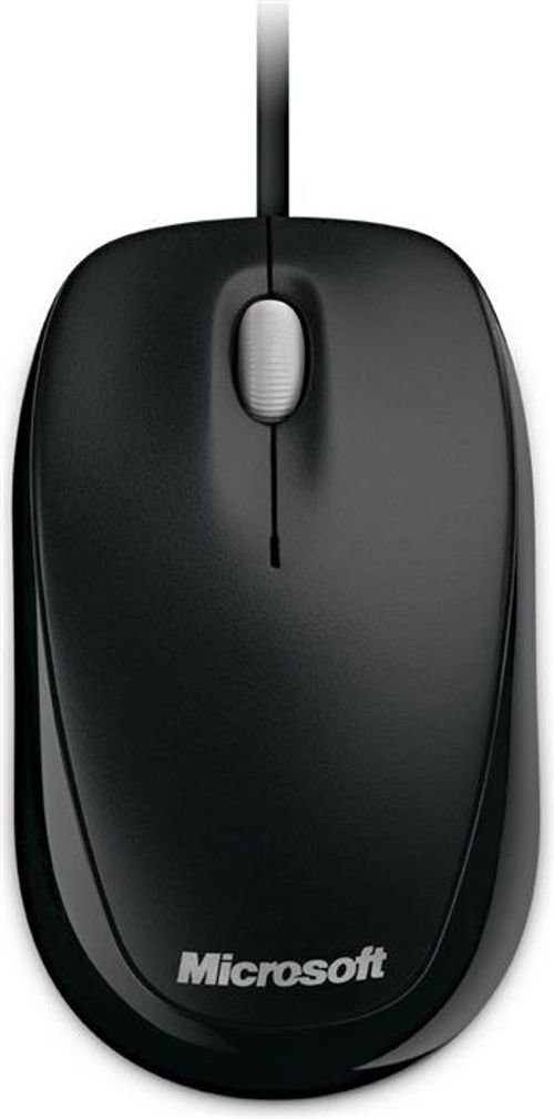 Microsoft Compact Optical Mouse 500 USB connection Black color