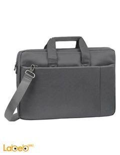 Riva Laptop Bag - 17 inch screen size - Grey - 8251 GREY model