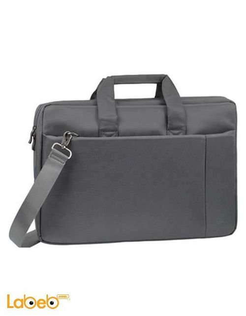Riva Laptop Bag 17 inch screen size Grey 8251 GREY