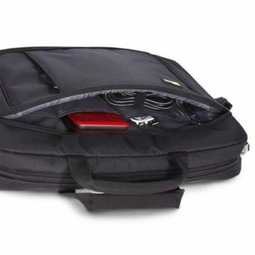 حقيبة لابتوب كيس لوجيك حجم 14.1 إنش لون أسود موديل AUA314