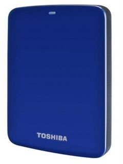Toshiba Canvio Basic - 2TB - Hard Drive - USB3 External  - Blue color