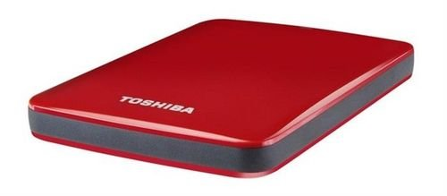 Toshiba Canvio Basic 2TB Hard Drive USB3 External Red color