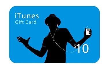 بطاقة هدايا أبل آي تيونز - قيمة 10 دولار