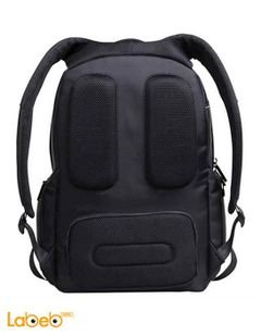 Promate Rebel Premium BackPack Laptop-15.6 inch -Black color- REBEL-BP