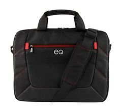 EQ Toploader Laptops Bag - 16Inch - Black color - KLM11730-R
