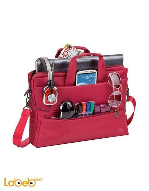RIVACASE Laptop bag 15.6 inch red color 8630 model