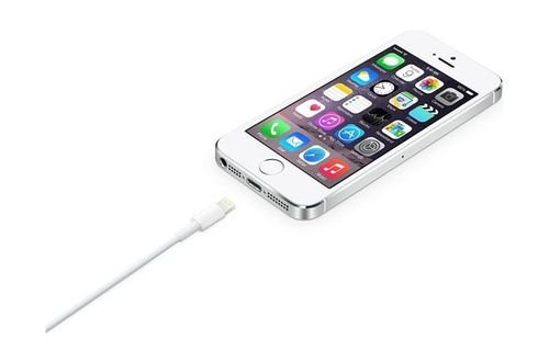 Apple USB Lightning Cable MD818ZM/A White color