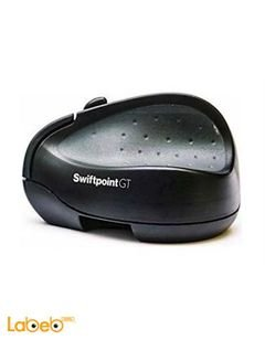 Black Swiftpoint SM500 Wireless Ergonomic Mouse - Touch Gestures