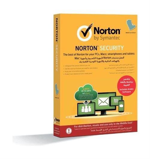 برنامج انتي فايروس لخمسة اجهزة- نورتون سيمانتيك- مستخدم واحد- لمدة عام