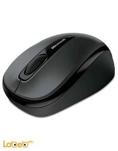 Microsoft 3500 Wireless Mouse - GMF-00010 - Black color