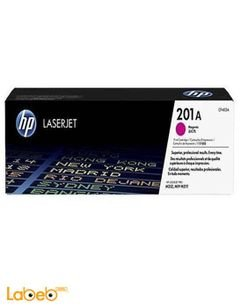 HP CF403A  LaserJet Toner Cartridge - Magenta color - 201A