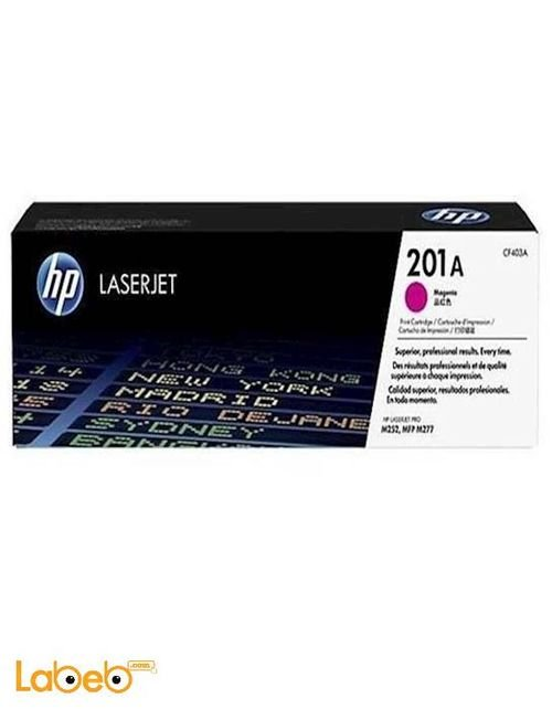 HP CF403A LaserJet Toner Cartridge Magenta color 201A