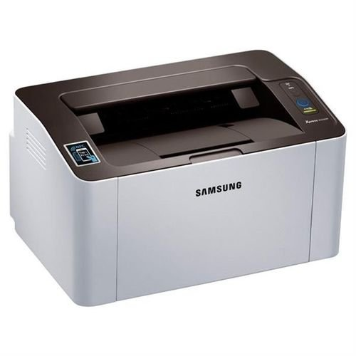 Samsung Wireless Monochrome NFC Printer side Up to 21PPM M2020W