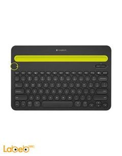 Logitech Bluetooth Multi-Device Keyboard - Black color - K480