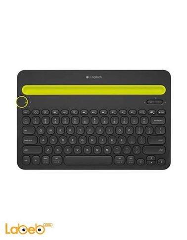 لوحة مفاتيح لاسلكية لوجيتيك - لون أسود - موديل K480